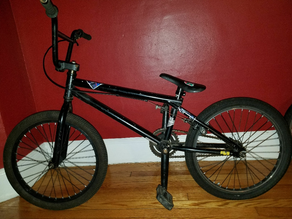 Black GT Fly BMX Bike