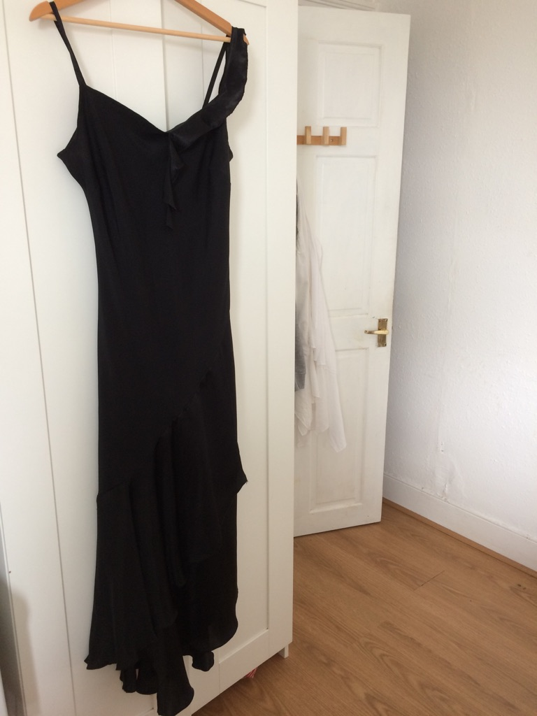 Night black dress