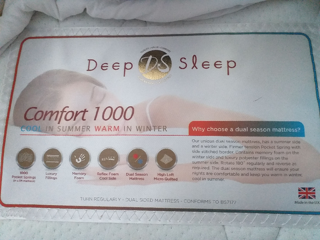 Temperature Control Double Mattress