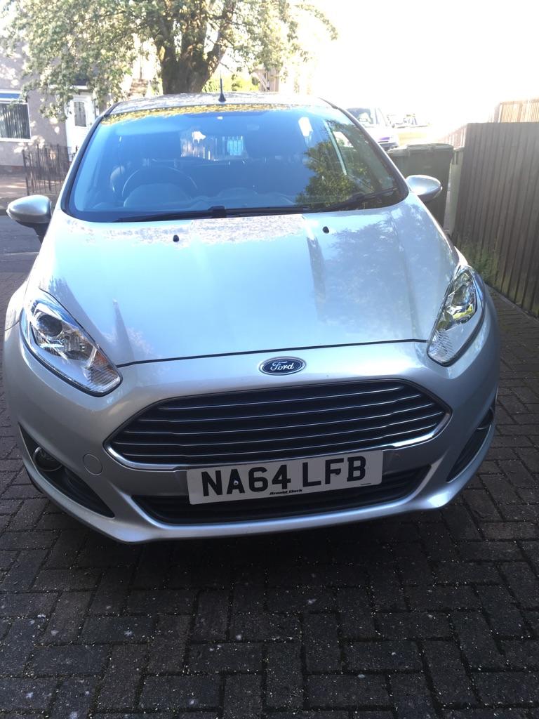 Ford Fiesta Silver £5800