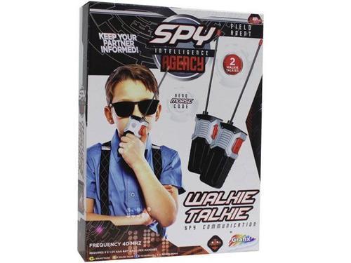 Gratis secret agent spy walkie talkies