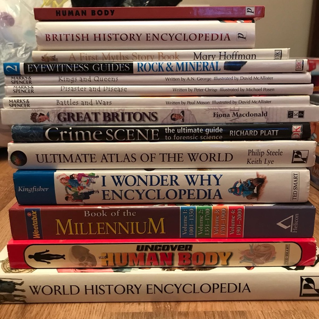 Selection of children's educational books