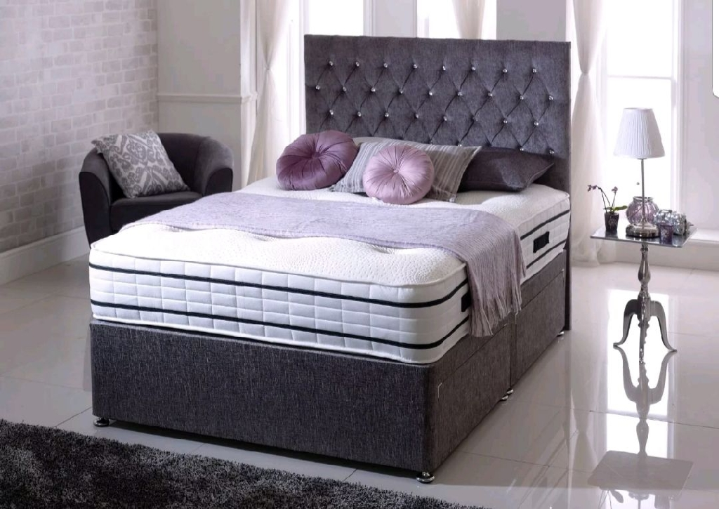 King-size divan base only