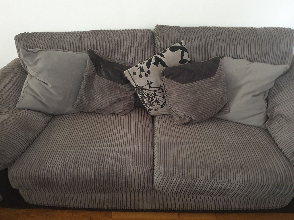 2 seater sofa bed and 3 seater sofa from dfs