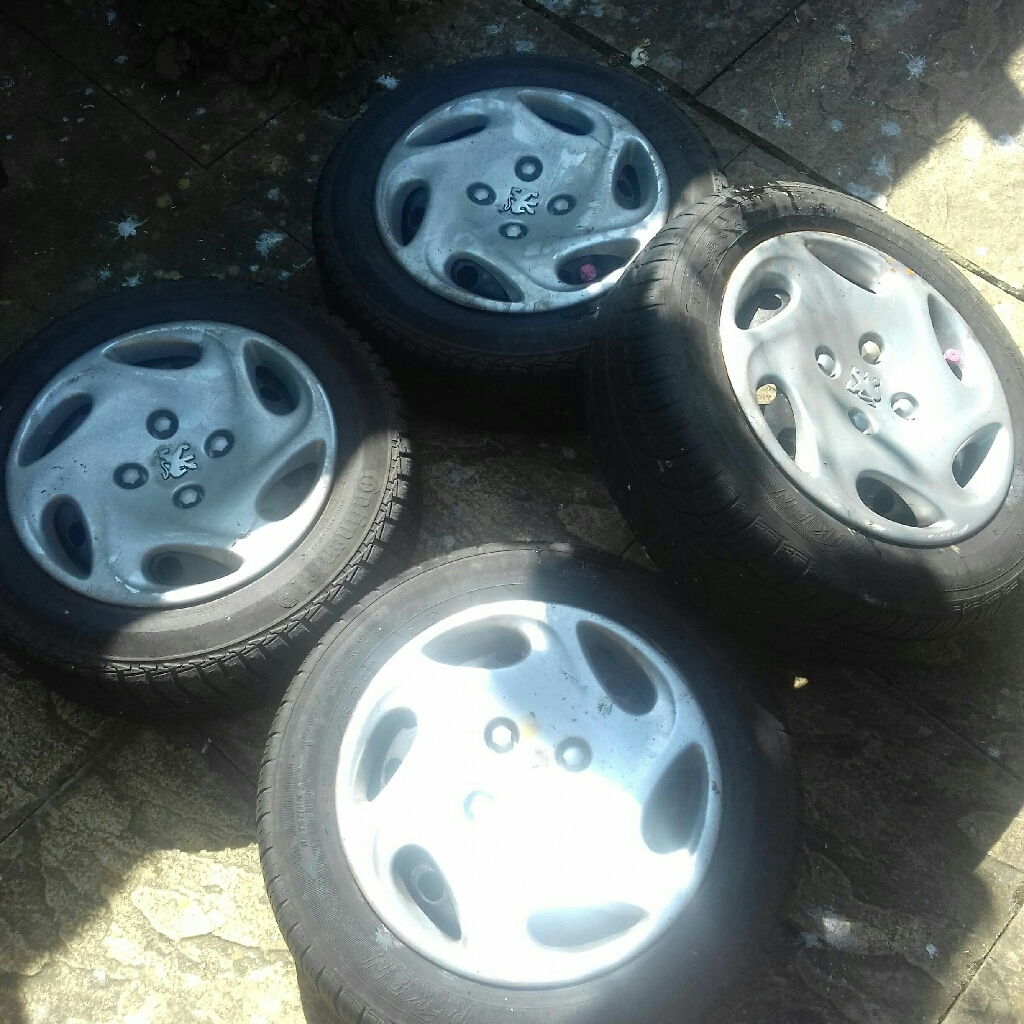 Peugeot 206 wheels and accessories