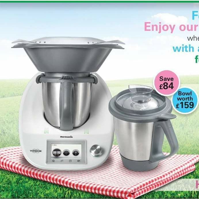 Thermomix tm5 connected