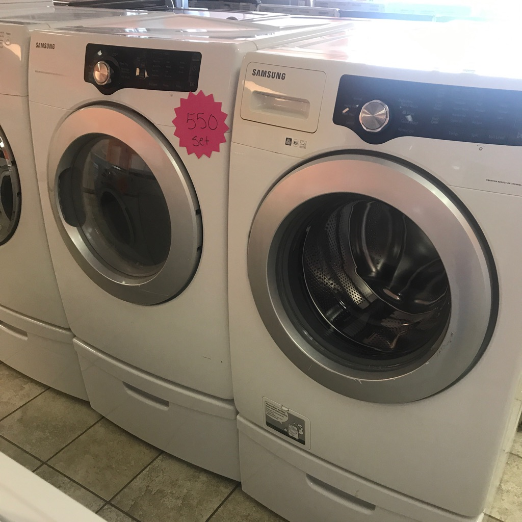 Samsung front load washer dryer combo -stackable