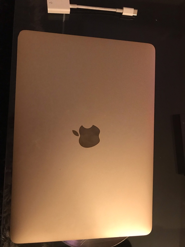 MacBook 2015 rose gold
