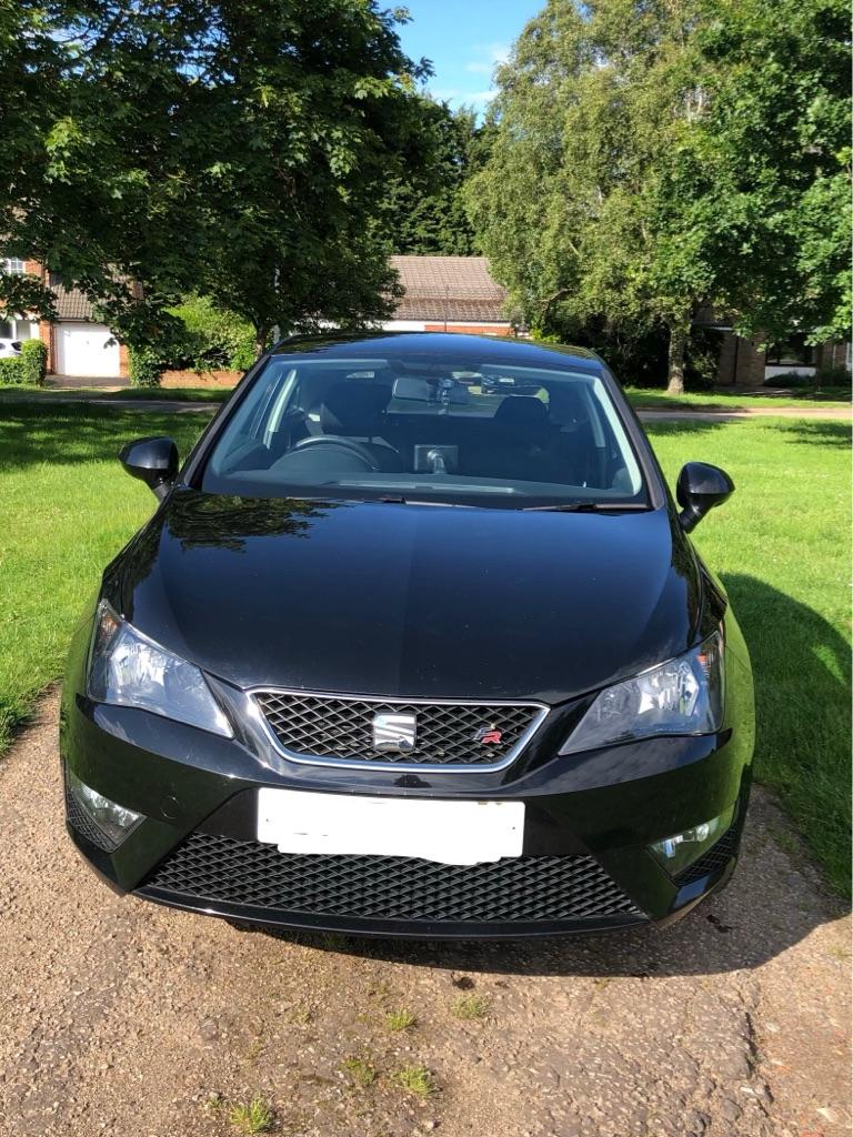 Seat Ibiza 15 plate FR 1.2 petrol in black