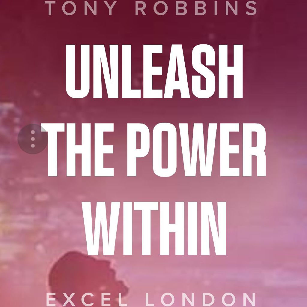 Tony Robbins ticket