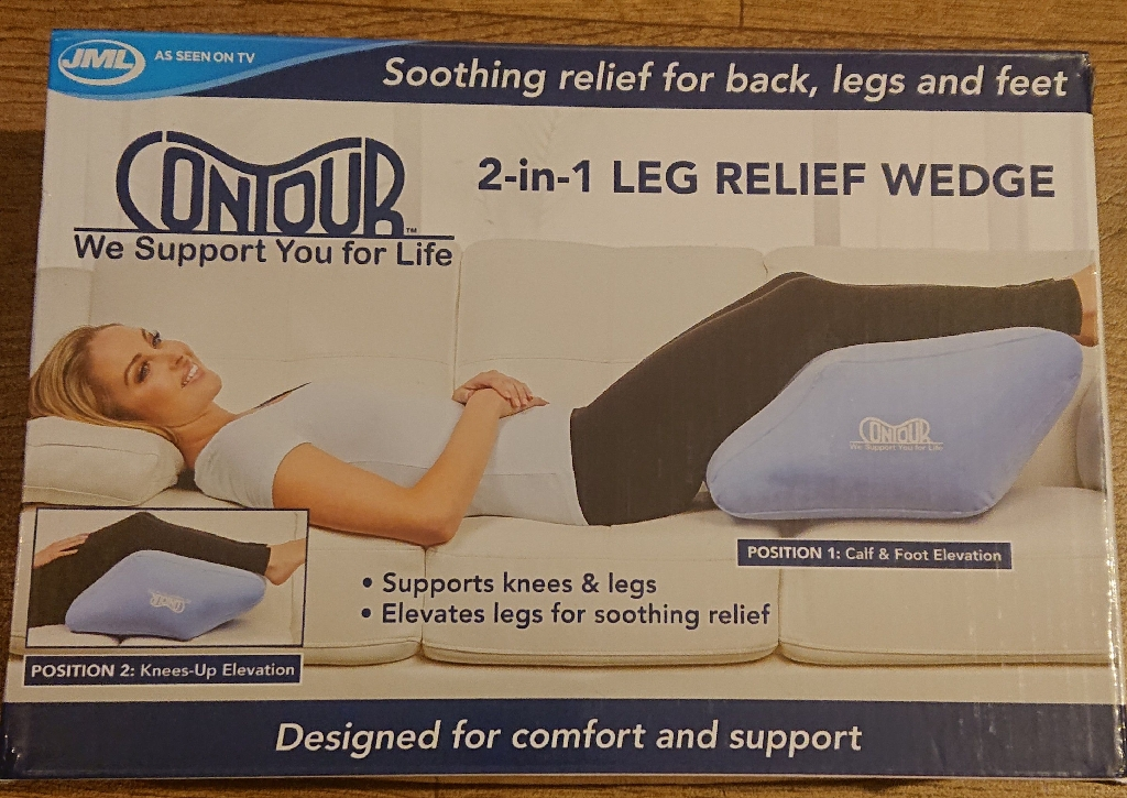Contour 2-in-1 Leg Relief Wedge For Sale