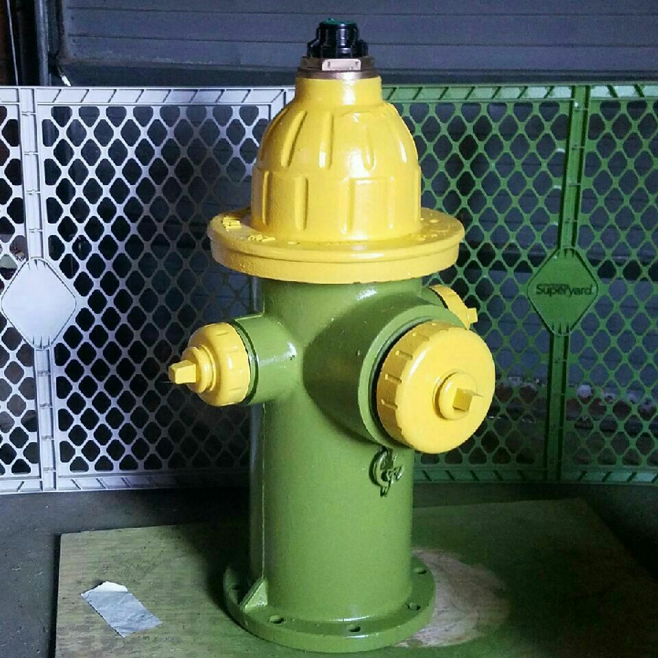 This is a real fire hydrant