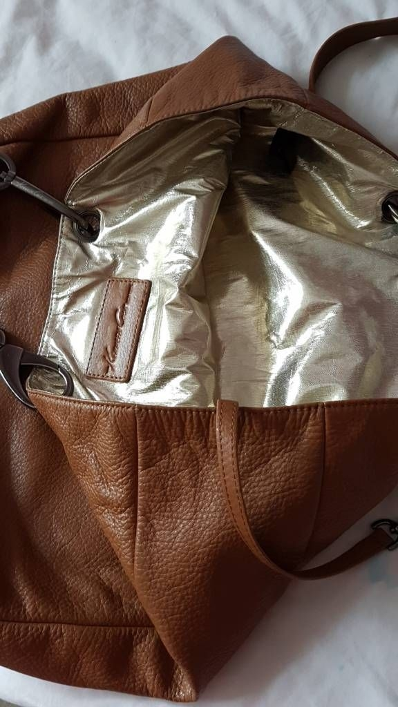 Large leather kenneth cole bag