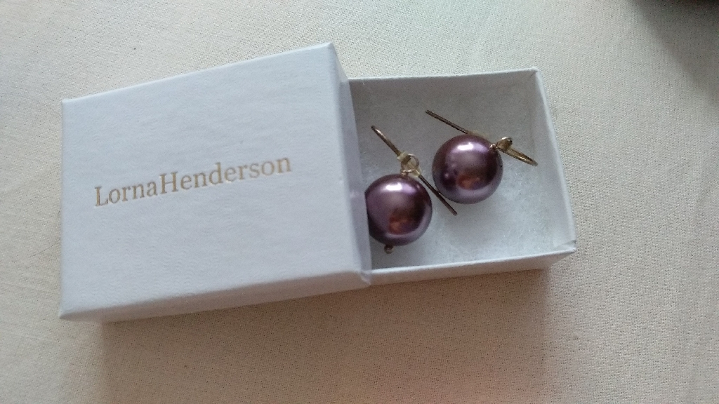 Lorna Henderson Shell Drop Earrings