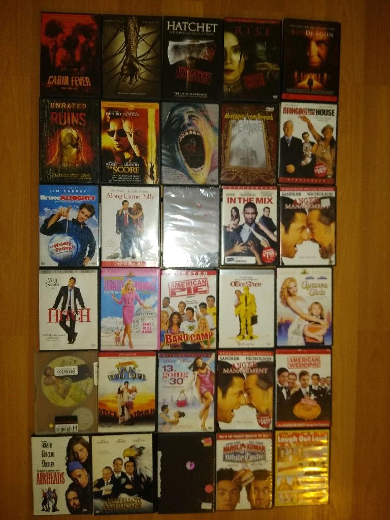 93 DVDs