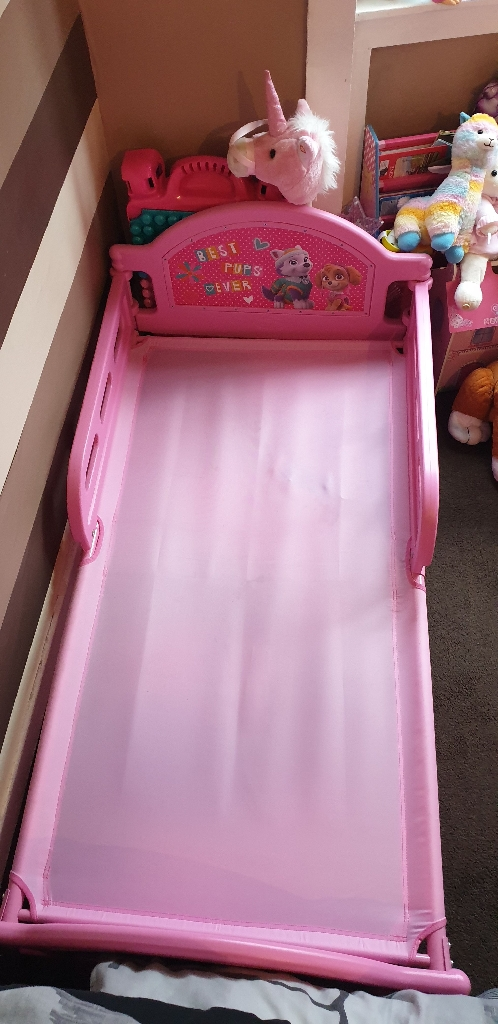 Paw Patrol Toddlers bed