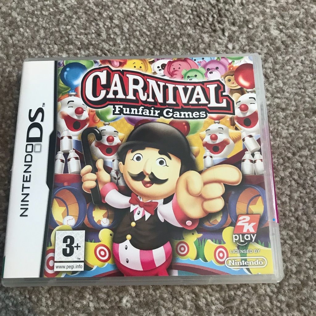 Carnival DS Game New & Sealed