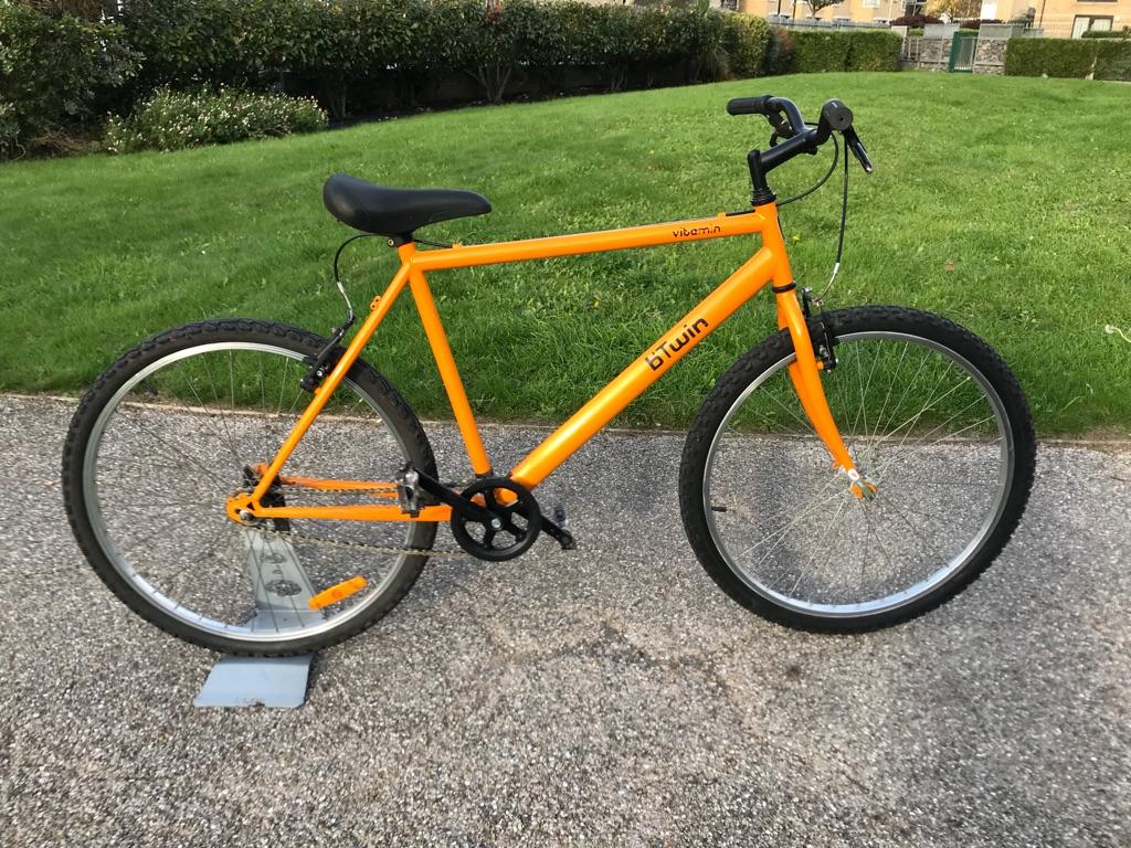 Btwin vitamin Mountain bike single speed commuting