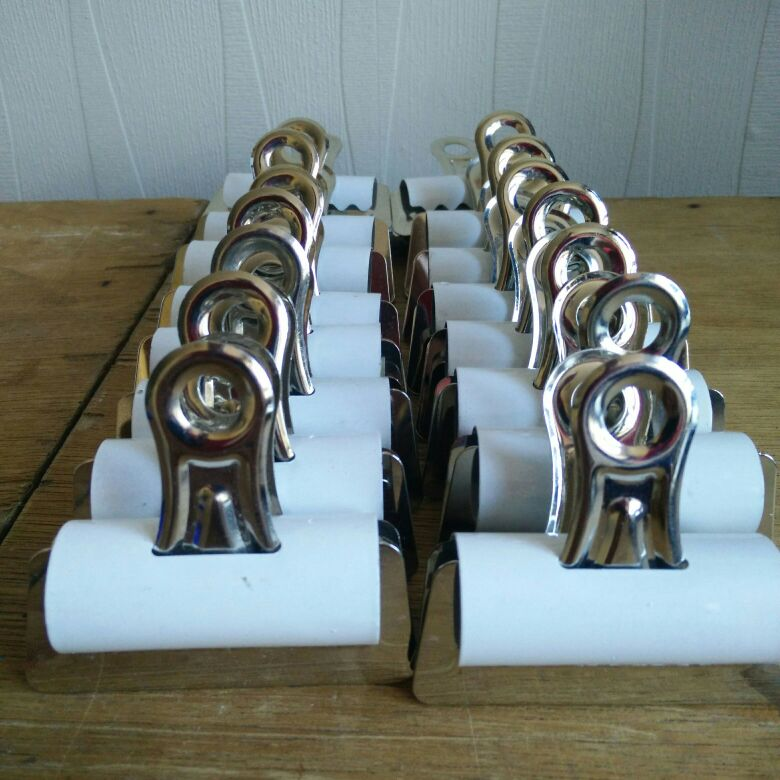 Wide Bulldog metal clip