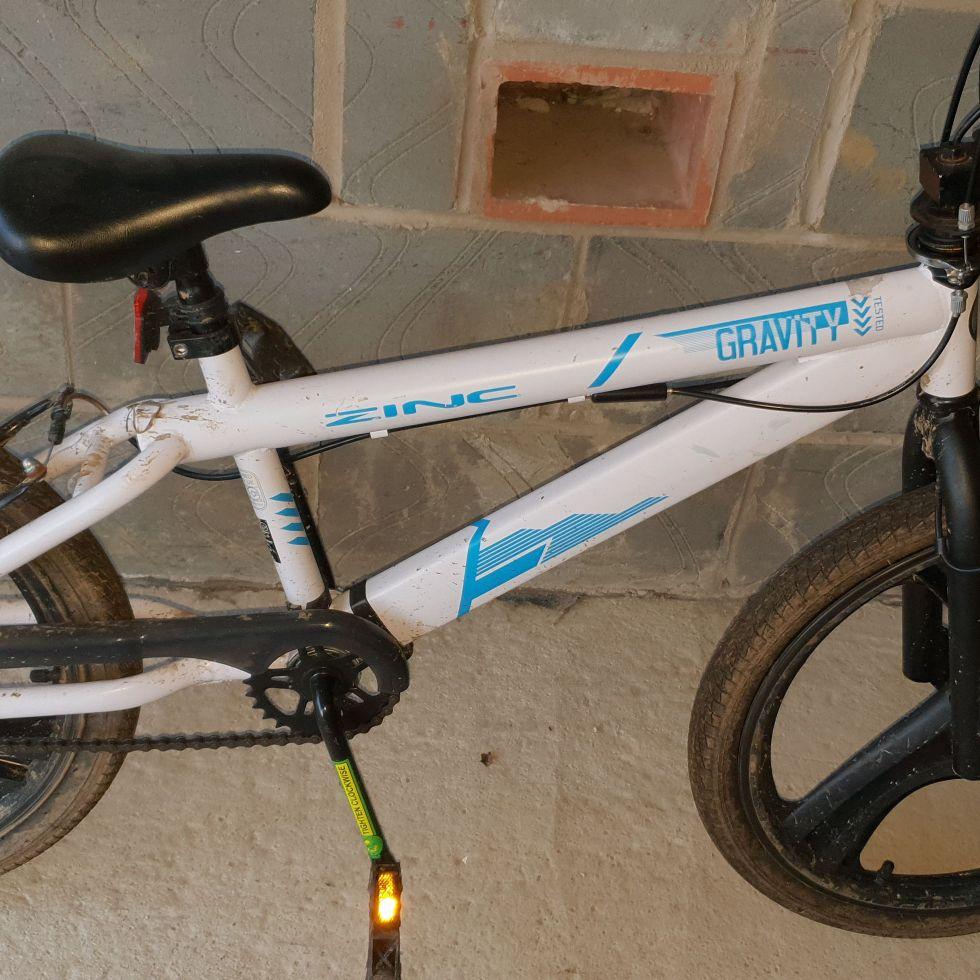 Zinc gravity BMX bike 20 inch frame