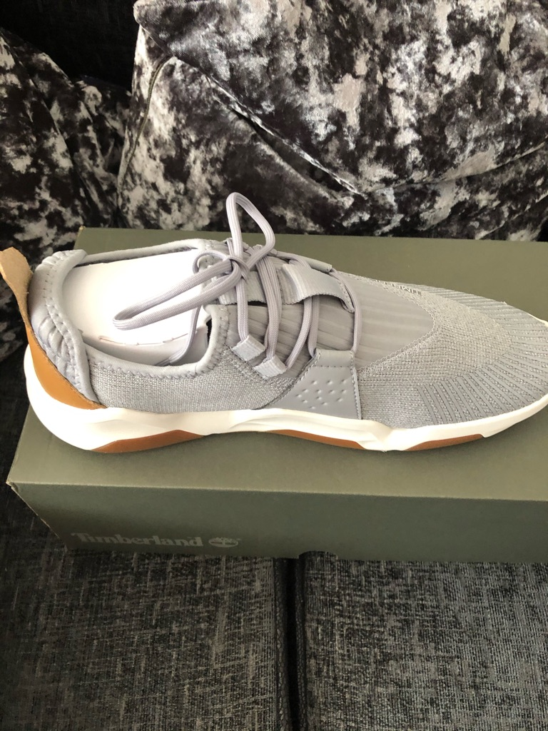 Men's size 9 timberline trainers brands new grey