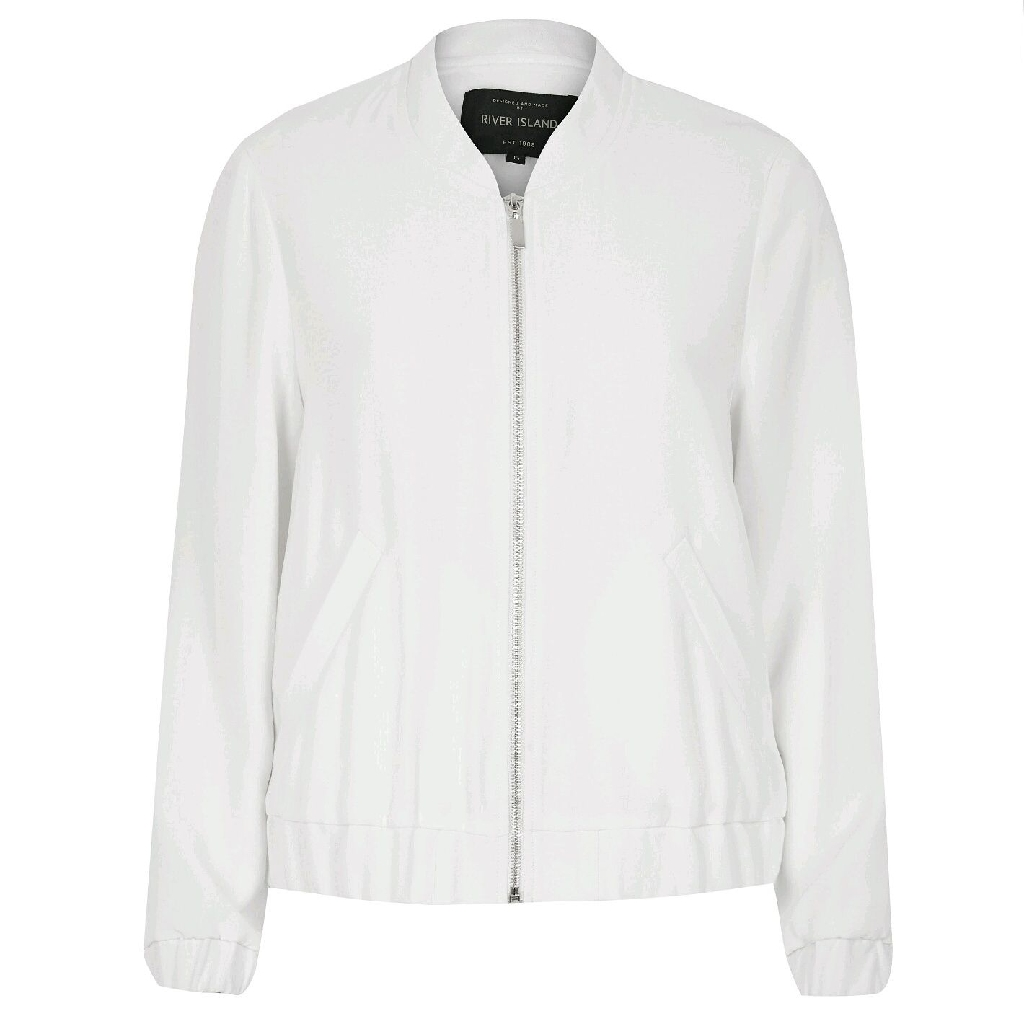 BNWT RIVER ISLAND spring/summer collection bomber jacket.