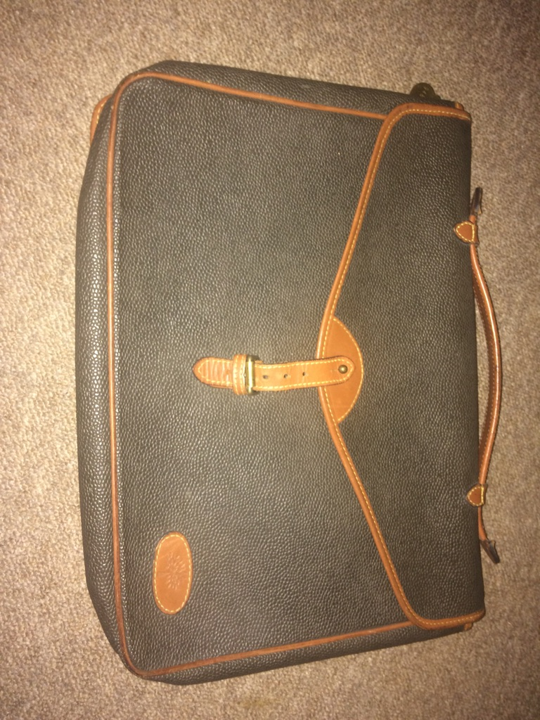 Mulberry laptop bag