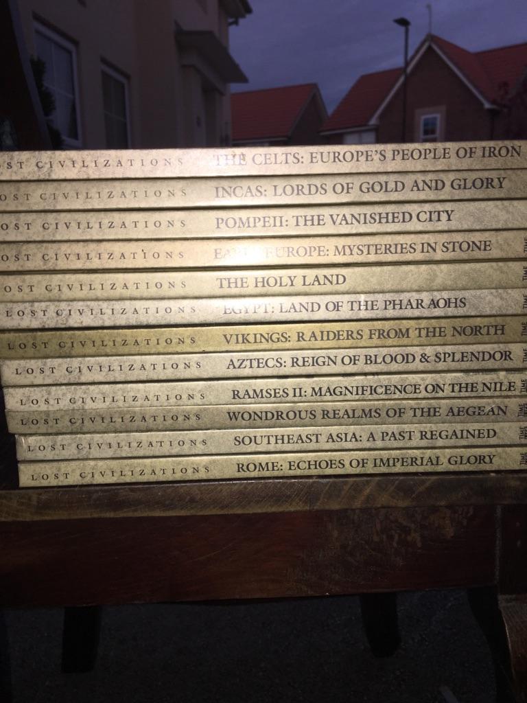 Lost civilisations books