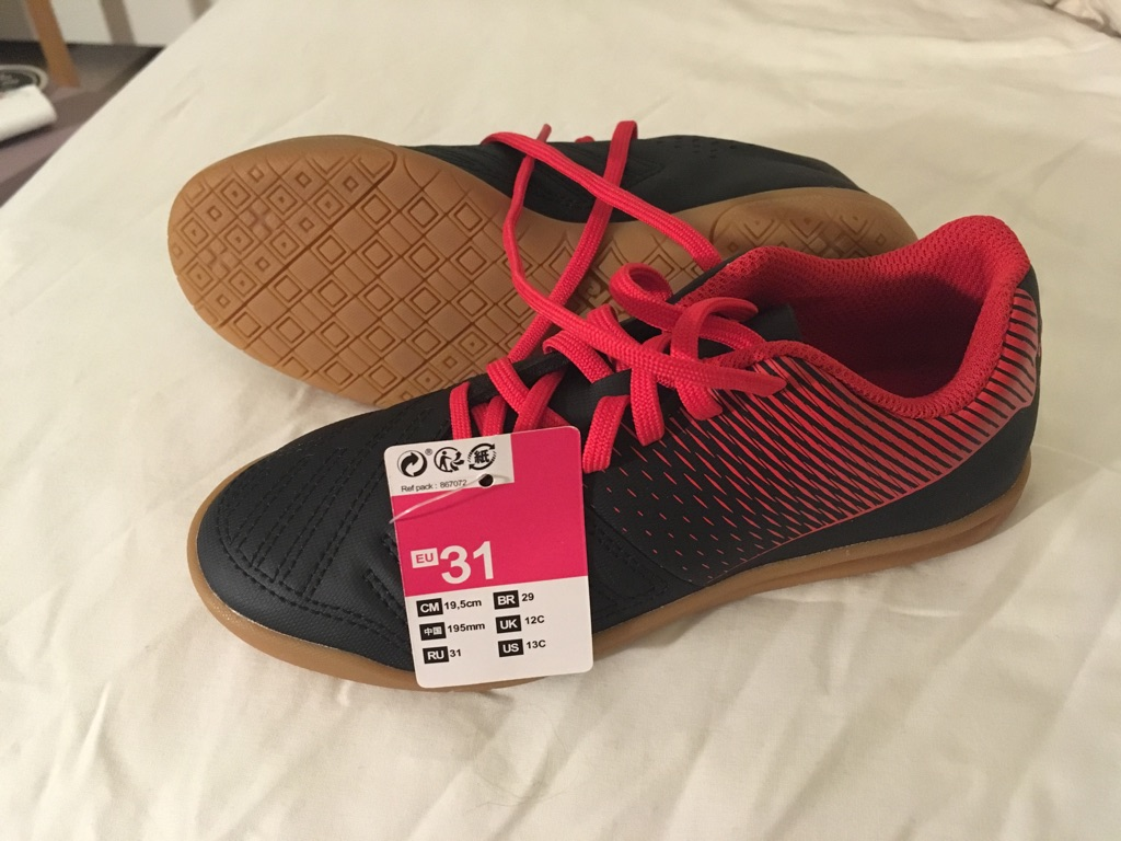 Football shoes size 12