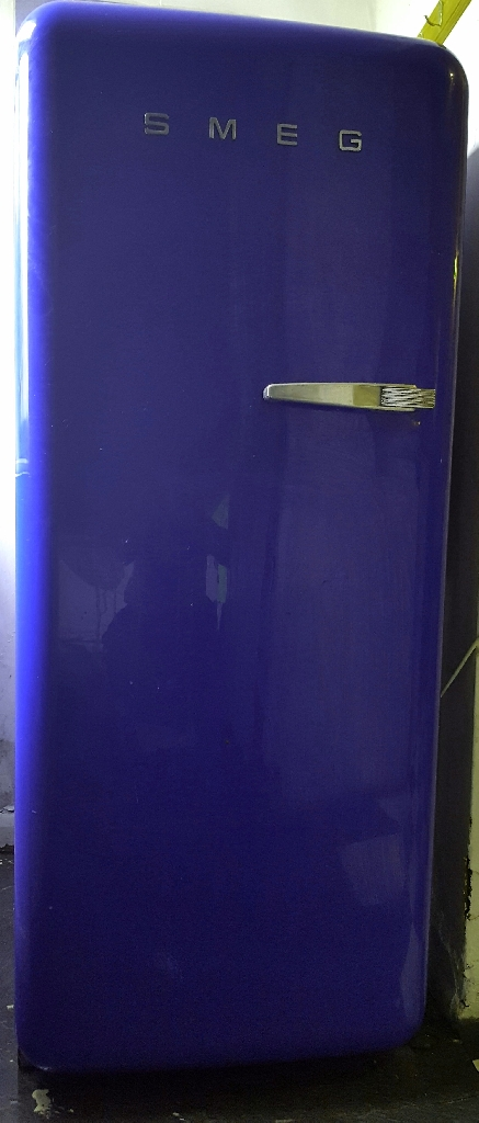 Smeg blue fridge freezer