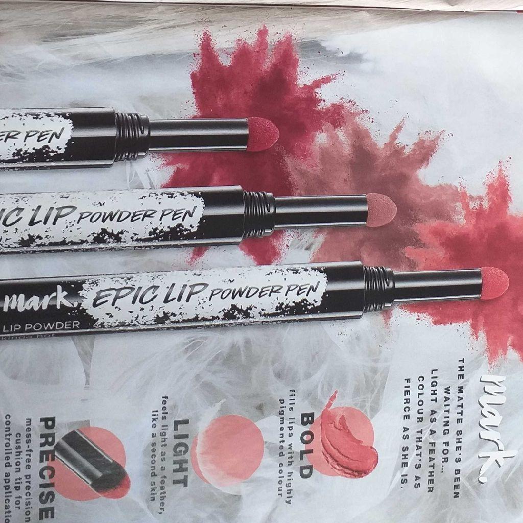 Matt powder lip pen