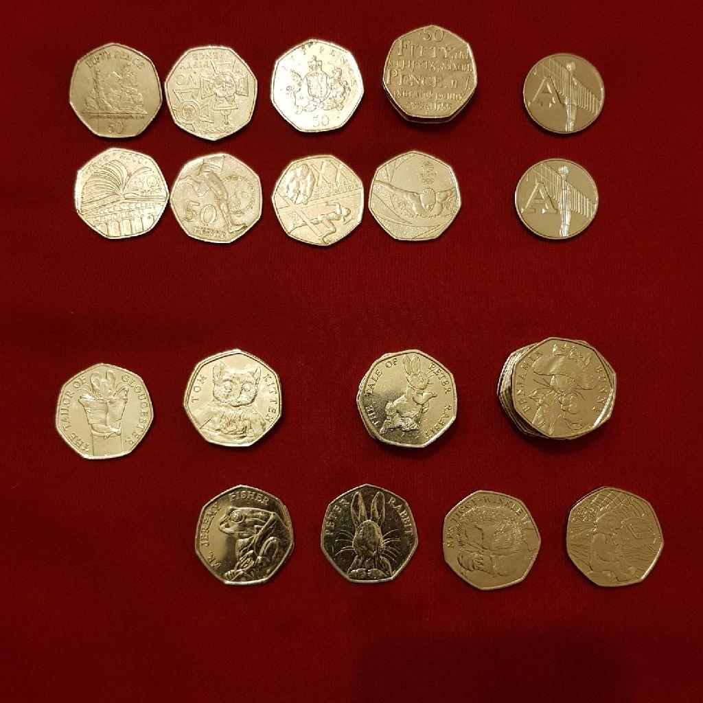 50p  10p rare coin