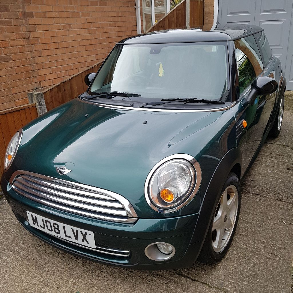 Mini Cooper 1.6 manual petrol