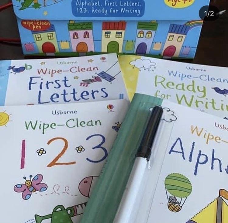 Wipe clean back to school kit📝