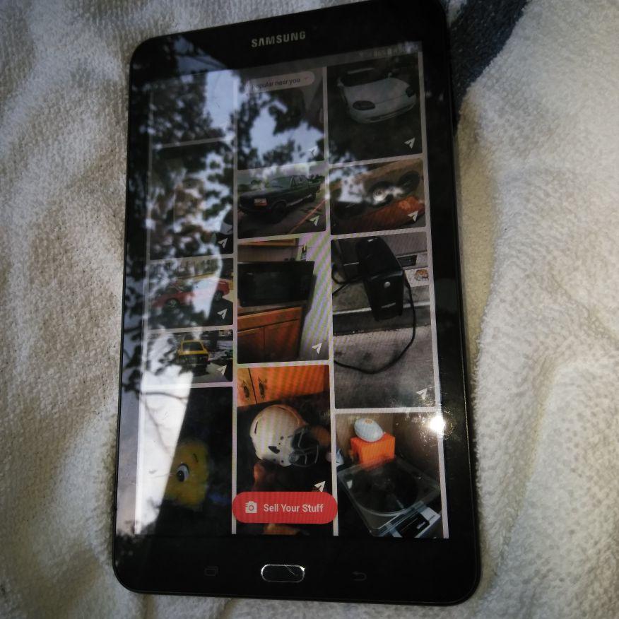 Samsung Tab e 8 inch tablet