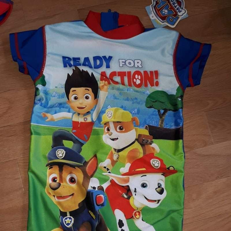 Boys paw patrol swim suit long leg. With uv protection. Age 2-3 years