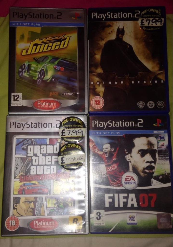 Bundle PS2 Games