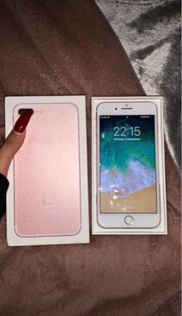 iPhone 7 rose gold 64gb