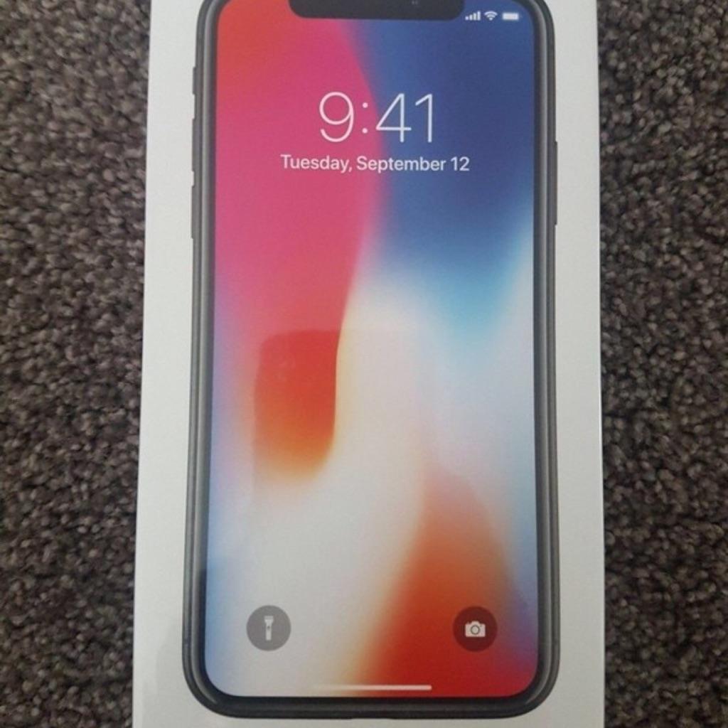 iPhone X 256GB Unlocked Sealed