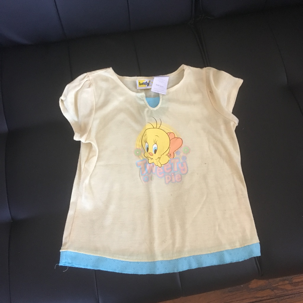 Tweety Bird T-shirt Youth Girls 8/10 $3