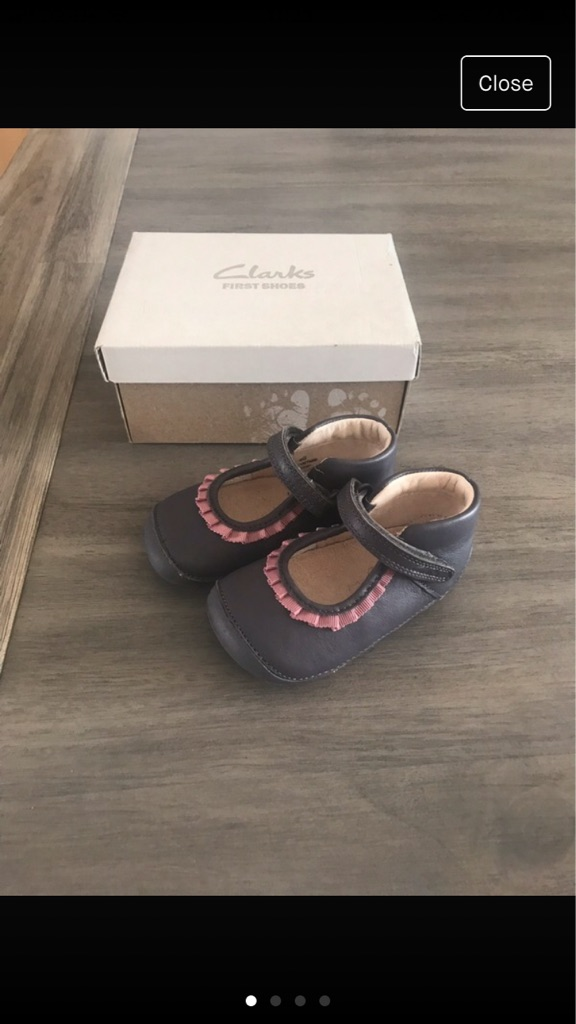Clark's First Shoes Girls