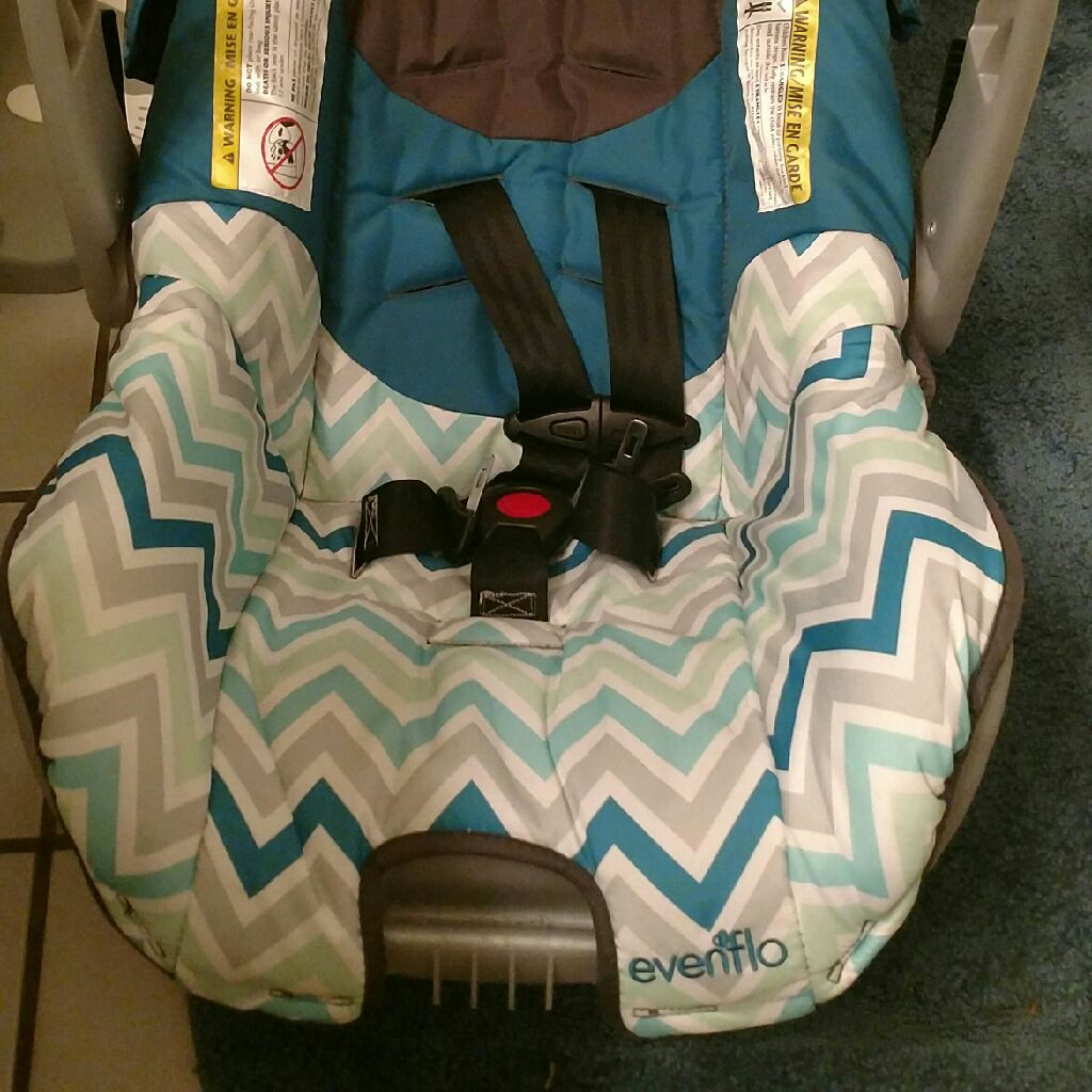 Evenflow infant carseat