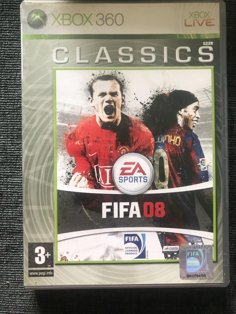 Fifa 08 Xbox 360 game