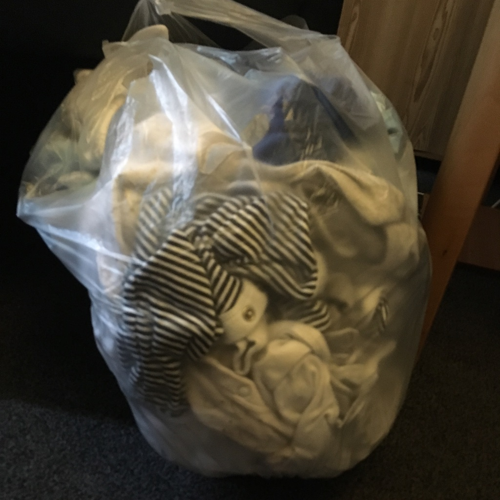 Bag of boy clothes