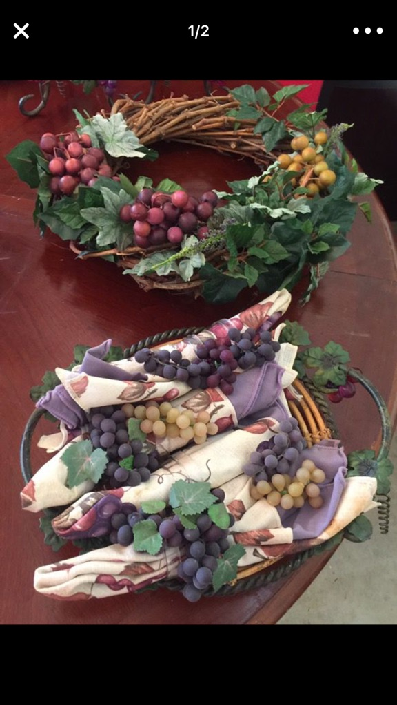 Grape decor