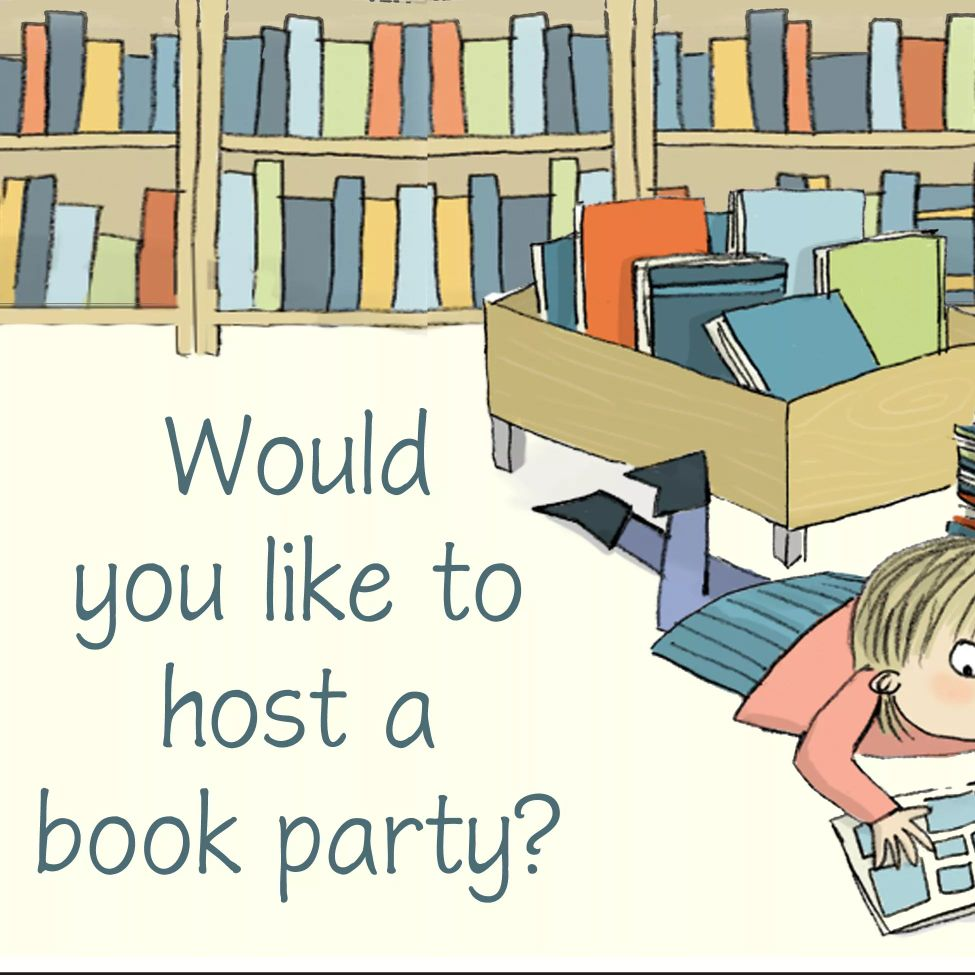 Host a Free Virtual Book Party