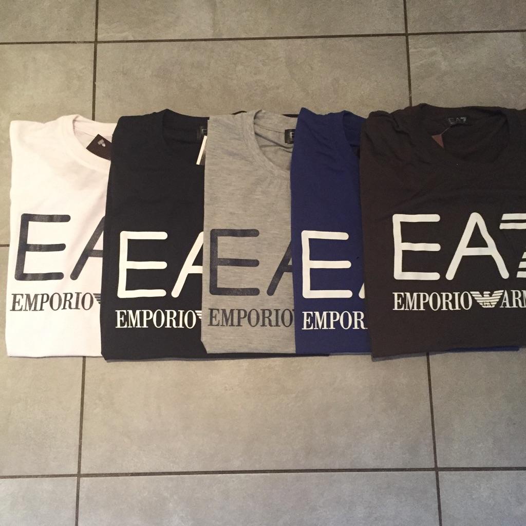 Armani t-shirts