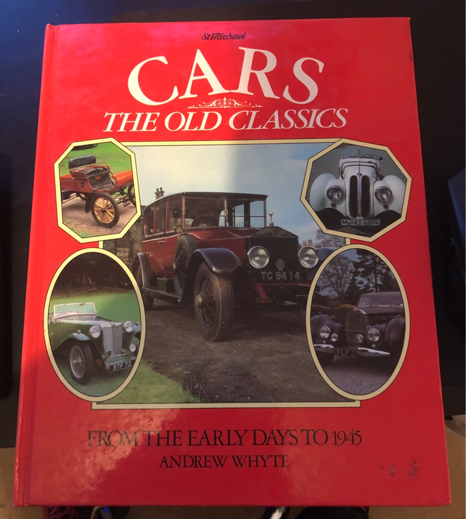 CARS THE OLD CLASSICS BOOK