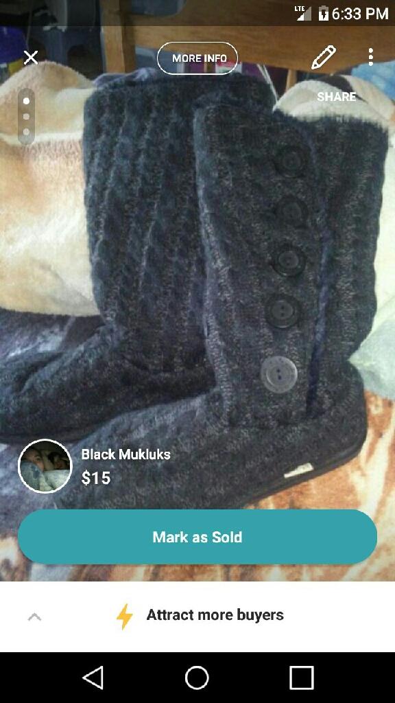 Black Mukluks