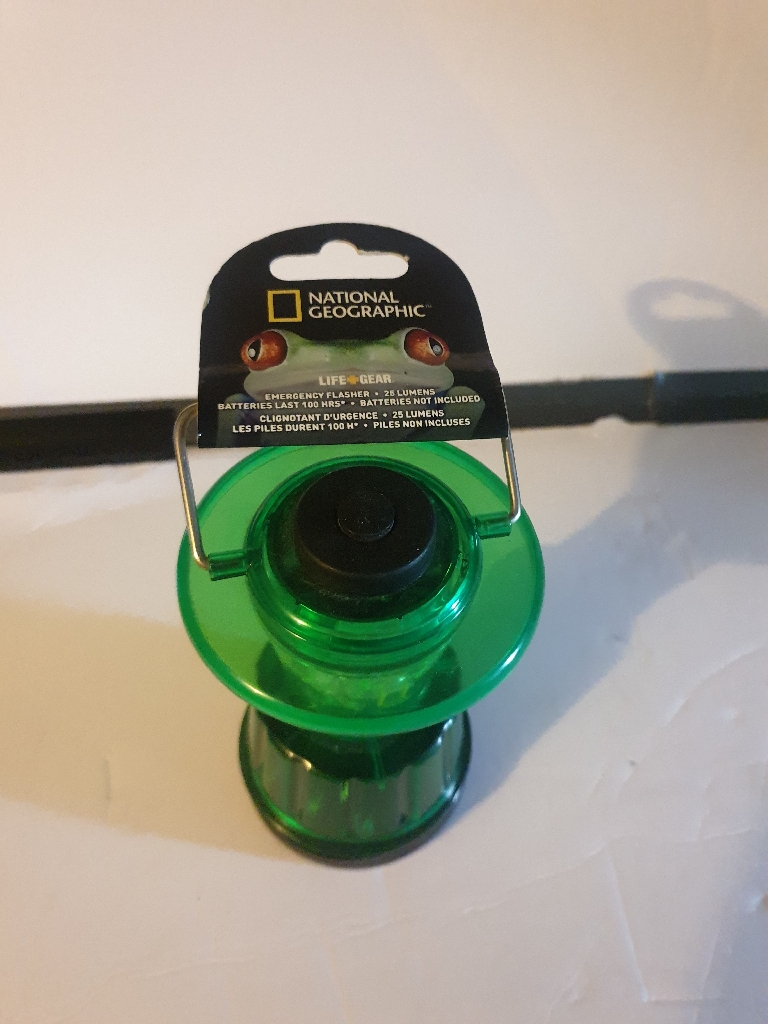 Camping light from national geographic